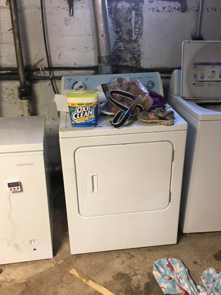 picture of our clothes dryer