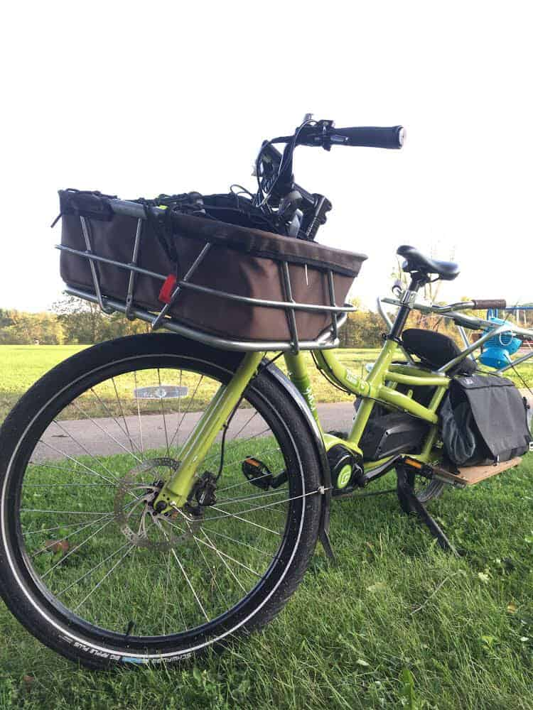 Picture of our spicy curry cargo bike