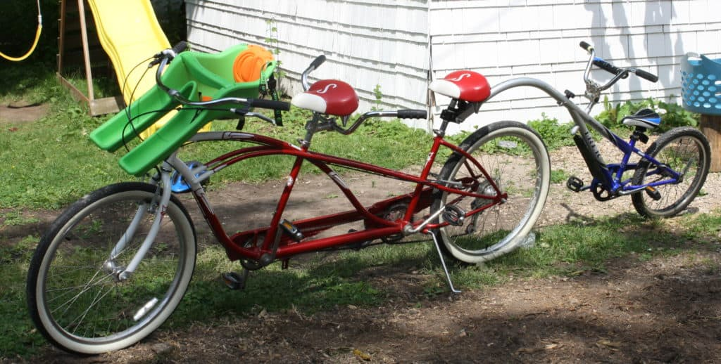 picture of a 4-seater bike