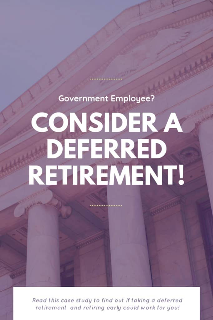 Pinnable picture about deferred retirement.