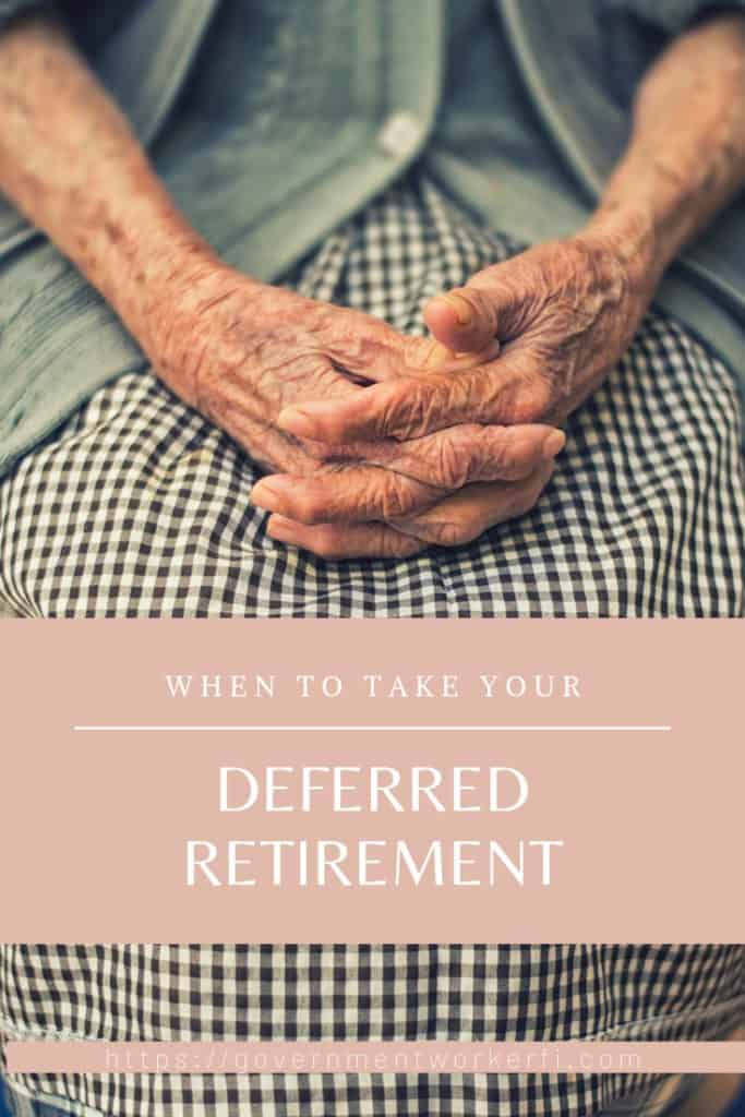 Pinnable image about when to collect deferred retirement