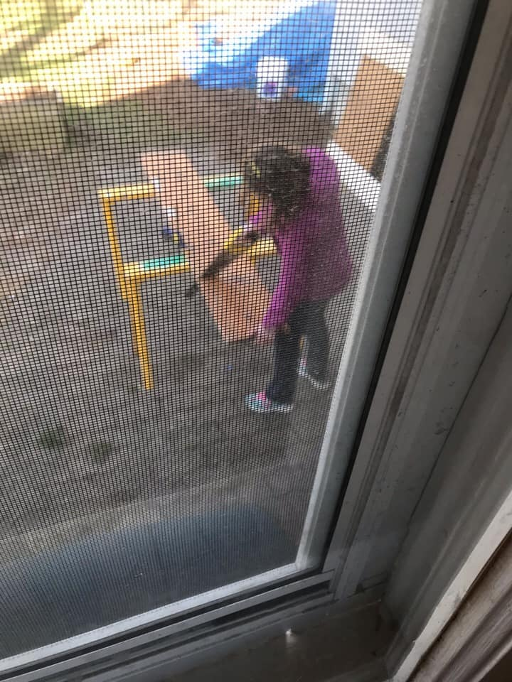 12 year old with a saw