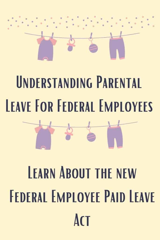 Pinterest pin for federal employee paid leave act
