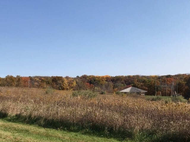 Wisconsin countryside in the fall