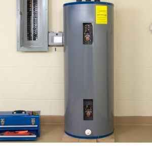 electric storage water heater picture.